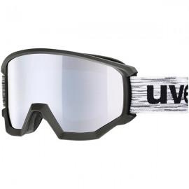 Uvex Athletic Fm Nero Lente Specchio Argento S3