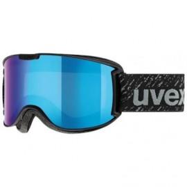 Uvex Skyper Ltm Nero Lente Specchio Blu S3