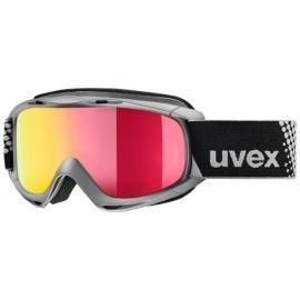 Uvex Slider Fm Antracite Lente Specchio Rosso S3