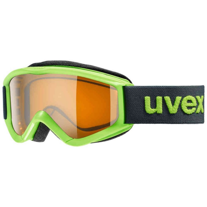 Uvex Speedy Pro Verde Chiaro Lente Arancio S2 Junior