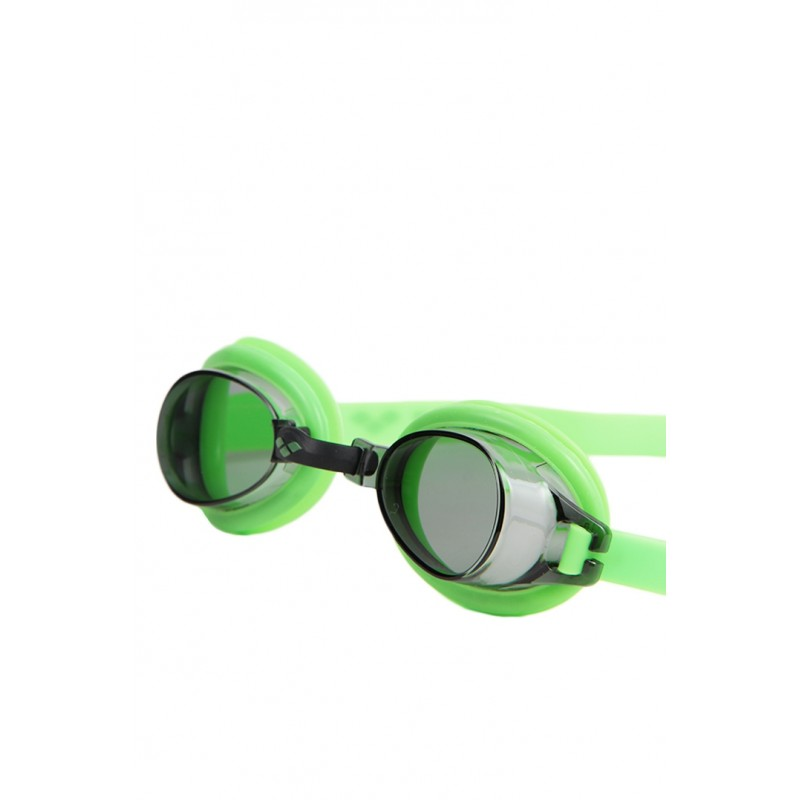 Arena Junior Bubble 3 Junior Occhialino Verde Lente Smoke