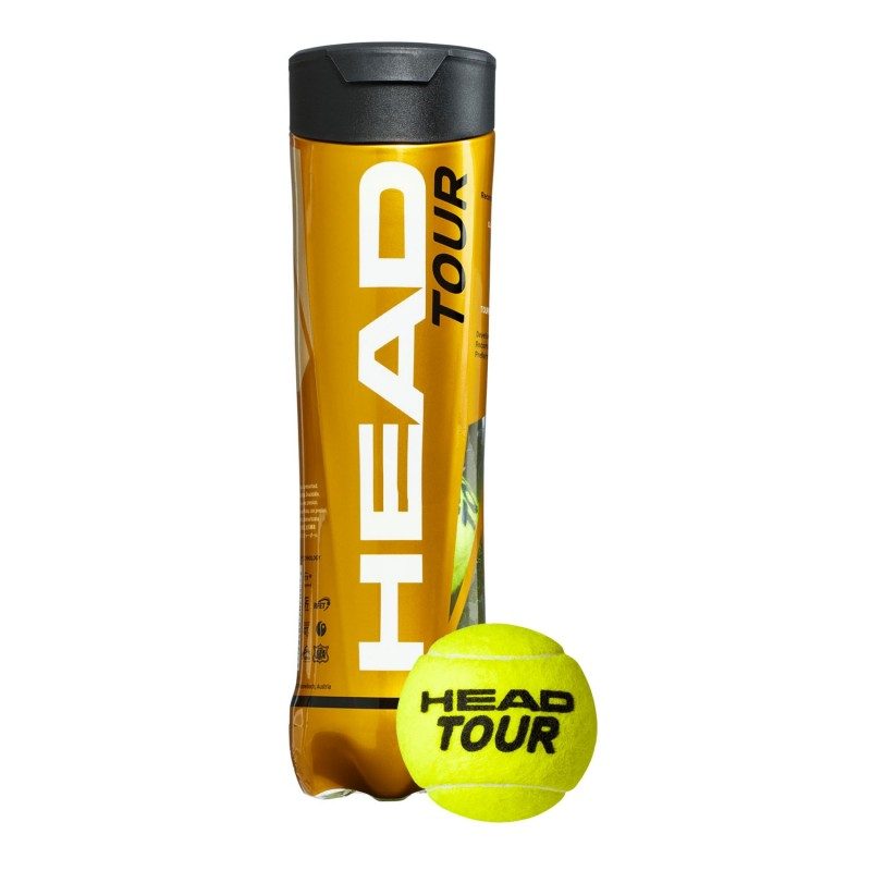 Head Pallina Tennis Tour Tubo X4 - Giuglar Shop