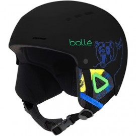 Bolle Quiz Matte Black Bear...