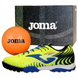 Joma Super Copa Jr 2011 Fluor-Royal + Pallone Junior - Giuglar Shop