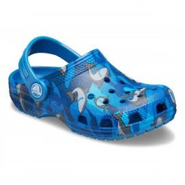 Crocs Classic Shark Clog Ps...