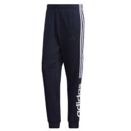 Adidas M E Cb Pt Pantalone Polsino 3S Logo Polpaccio Blu Uomo-Giuglar Shop