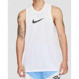 Nike M Dry Top Sl Crossover Canottiera Basket Bianca Swoosh Nero Uomo-Giuglar Shop