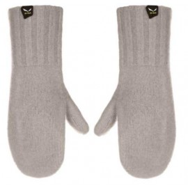 Salewa Walk Wool 2 Mitten Grey-Giuglar Shop