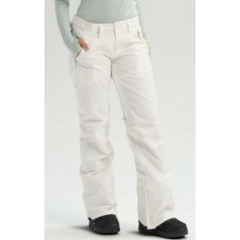 Burton Wb Society Pt Stout White Pantalone Snow Bianco Donna-Giuglar Shop