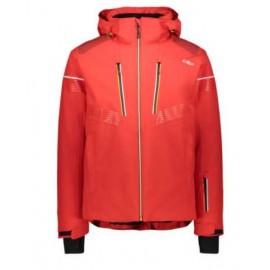 Cmp Man Jacket Zip Rosso...