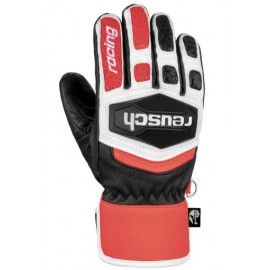 Reusch Worldcup Warrior Gs Guanto Gara Bianco/Aran/Nero Junior-Giuglar Shop
