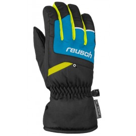 Reusch Bennet Guanto Sci Nero/Royal/Lime Junior Bimbo-Giuglar Shop