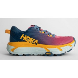 Hoka One One W Mafate Speed 3 Fuxia/Blu/Gialla Donna-Giuglar Shop
