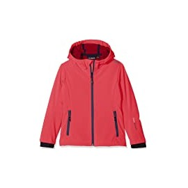 Cmp Kid G Fix Hood Jacket Softshell Fuxia/Rosa Junior-Giuglar Shop