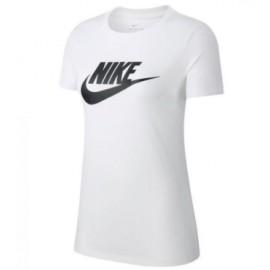 Nike W Nsw Tee Essntl Icon Futura Wht/Blk T-Shirt M/M Bianca Donna-Giuglar Shop
