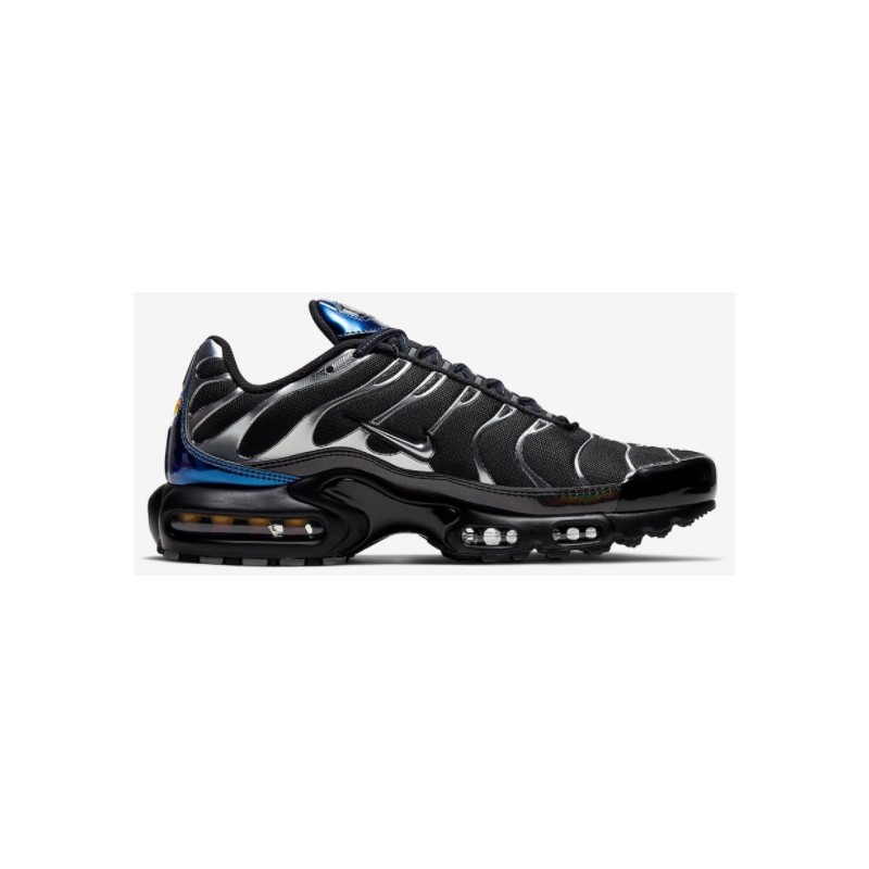 Nike Par Air Max Plus Black/Mtlc Cool Grey Uomo-Giuglar Shop