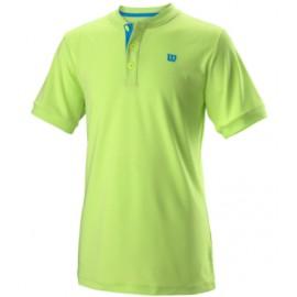 Wilson B Uwii Henley Polo Girocollo Sharp Green Junior-Giuglar Shop