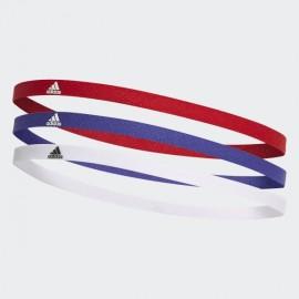 Adidas 3Pp Hairband Pacco 3 Elastici - Giuglar Shop
