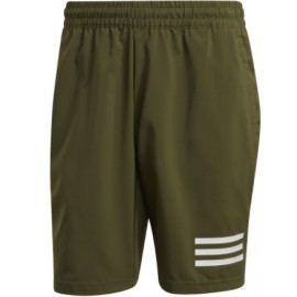 Adidas Club 3Str Short Verde Tennis Uomo-Giuglar Shop