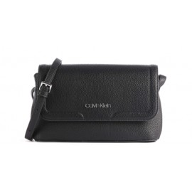 Calvin Klein Ew Flap Xbody Ck Black Borsetta Tracolla C/Patta Ecop Mart Nera-Giuglar Shop