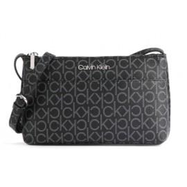 Calvin Klein Ew Xbody Monogram Black Mono Borsetta Tracolla Ecop Loghi-Giuglar Shop