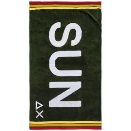 Sun 68 Telo Mare Logo Militare - Giuglar Shop