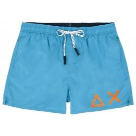 Sun 68 Boxer Mare Azzurro Logo Uomo - Giuglar Shop