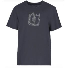 E9 Plan T-Shirt M/M Blu Uomo-Giuglar Shop