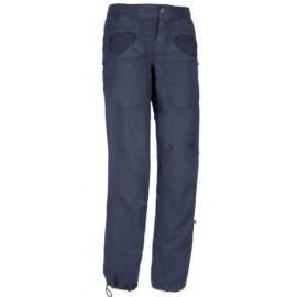 E9 Onda Flax Pantalone Blu Tasche Ricamo Sangallo Donna-Giuglar Shop