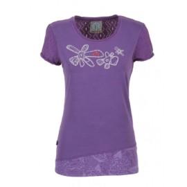 E9 Odre T-Shirt M/M Malva Fantasia Trafor Retro Donna-Giuglar Shop