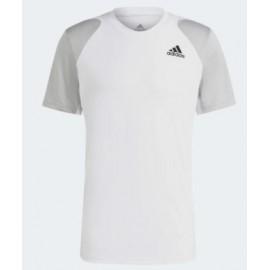 Adidas Club Tee T-Shirt M/M Bianca/Grigia Uomo-Giuglar Shop