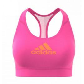 Adidas Drst Ask Bra Top Lycra Fuxia Logo Triangolo Donna-Giuglar Shop