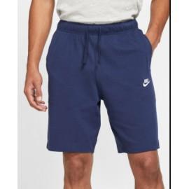 Nike M Nsw Club Short Jsy Pantaloncino Jersey Blu Uomo-Giuglar Shop