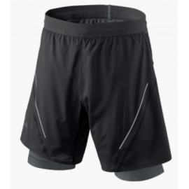 Dynafit Alpine Pro M 2/1 Shorts Doppio Nero Uomo-Giuglar Shop