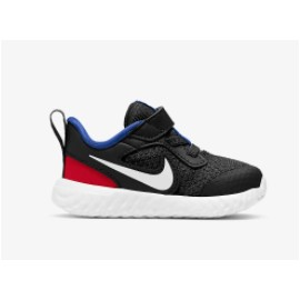 Nike Junior Nike Revolution 5 (Tdv) Black/White-University Red Junior-Giuglar Shop