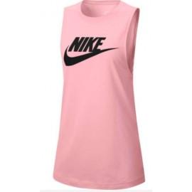 Nike W Nsw Tank Mscl Futura Canotta Rosa Donna-Giuglar Shop