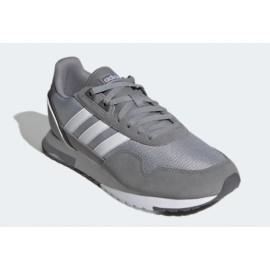 Adidas 8K 2020 Grigio/Bianco Uomo-Giuglar Shop
