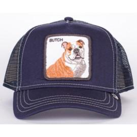 Goorin Bros Cappellino Butch Bulldog Navy-Giuglar Shop