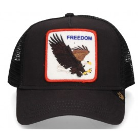 Goorin Bros Cappellino Freedom Aquila Nero-Giuglar Shop