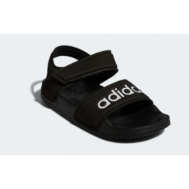 Adilette Sandal K Nero Junior