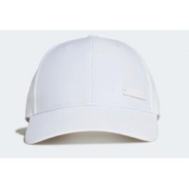Adidas Bballcap Lt Met Cappellino Visiera Microfibra Bianco-Giuglar Shop