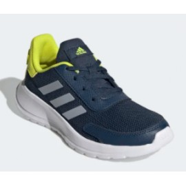 Adidas Junior Tensaur Run K Blu Petrolio/Lime Junior-Giuglar Shop