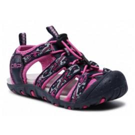 Cmp Kids Sahiph Hiking Sandal Blue Blu Scuro/Rosa Junior-Giuglar Shop