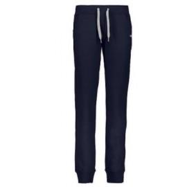 Pantalone Felpa Polsino Blu...