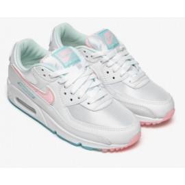 Nike W Air Max 90 White/Arctic Punch Donna-Giuglar Shop