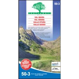 Fraternali Editore Cartina Val Maira, Val Grana, Valle Stura, Valle Gesso-Giuglar Shop