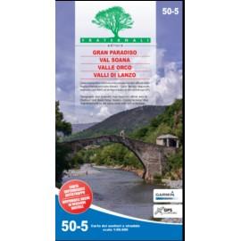Fraternali Editore Cartina Gran Paradiso, Val Soana, Valle Orco, Valli Di Lanzo-Giuglar Shop