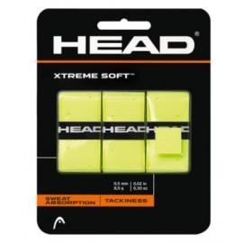 Head Xtreme Soft Cover Grip Giallo Fluo 3Pz-Giuglar Shop