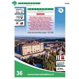 Fraternali Editore Cartina ROERO - Giuglar Shop