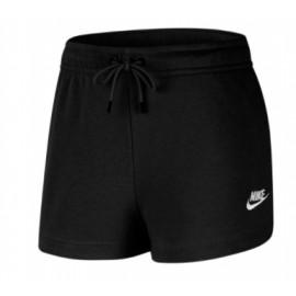 Nike W Nsw Essntl Short Ft Black/White Nero Donna-Giuglar Shop